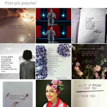 La poesia non è morta. Vive e lotta insieme a noi (anche su Instagram!)